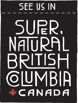 Super, Natural British Columbia Canada logo