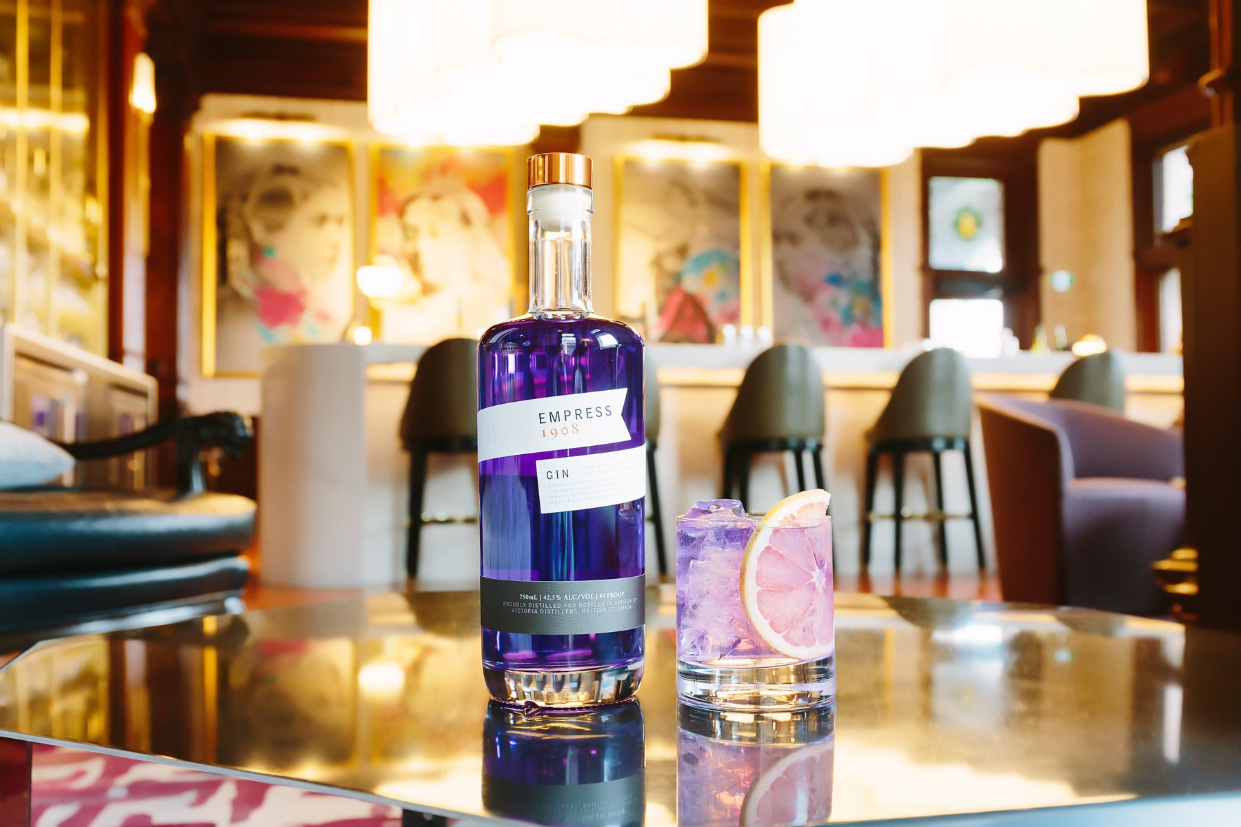 victoria distillers empress gin