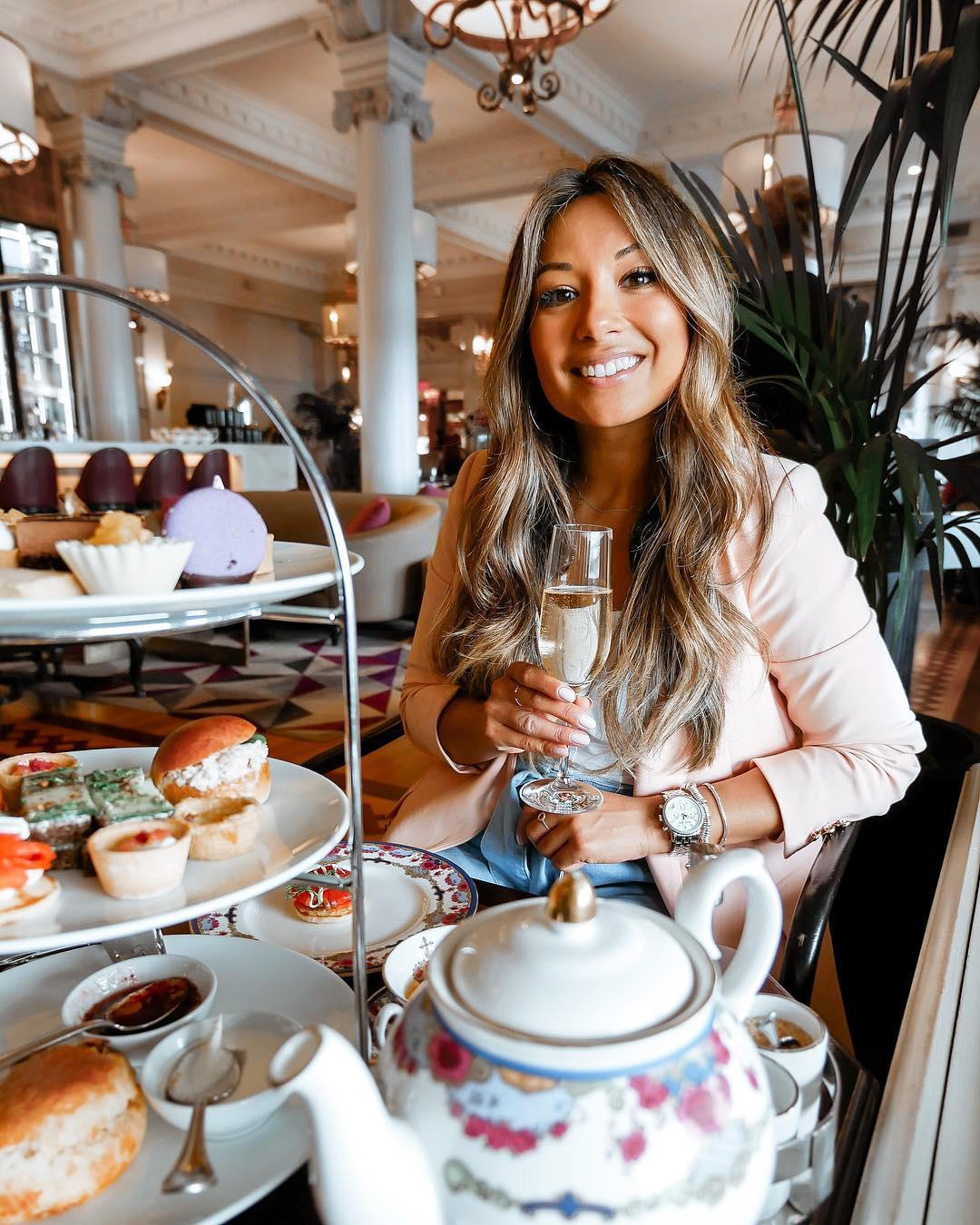 Tea at the Fairmont Empress