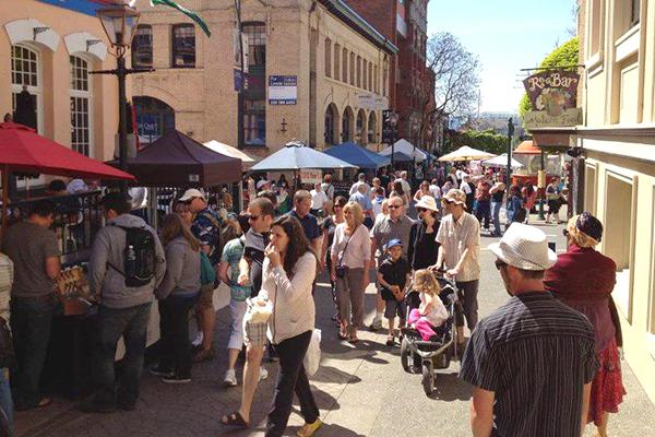 Bastion Square Market Victoria BC