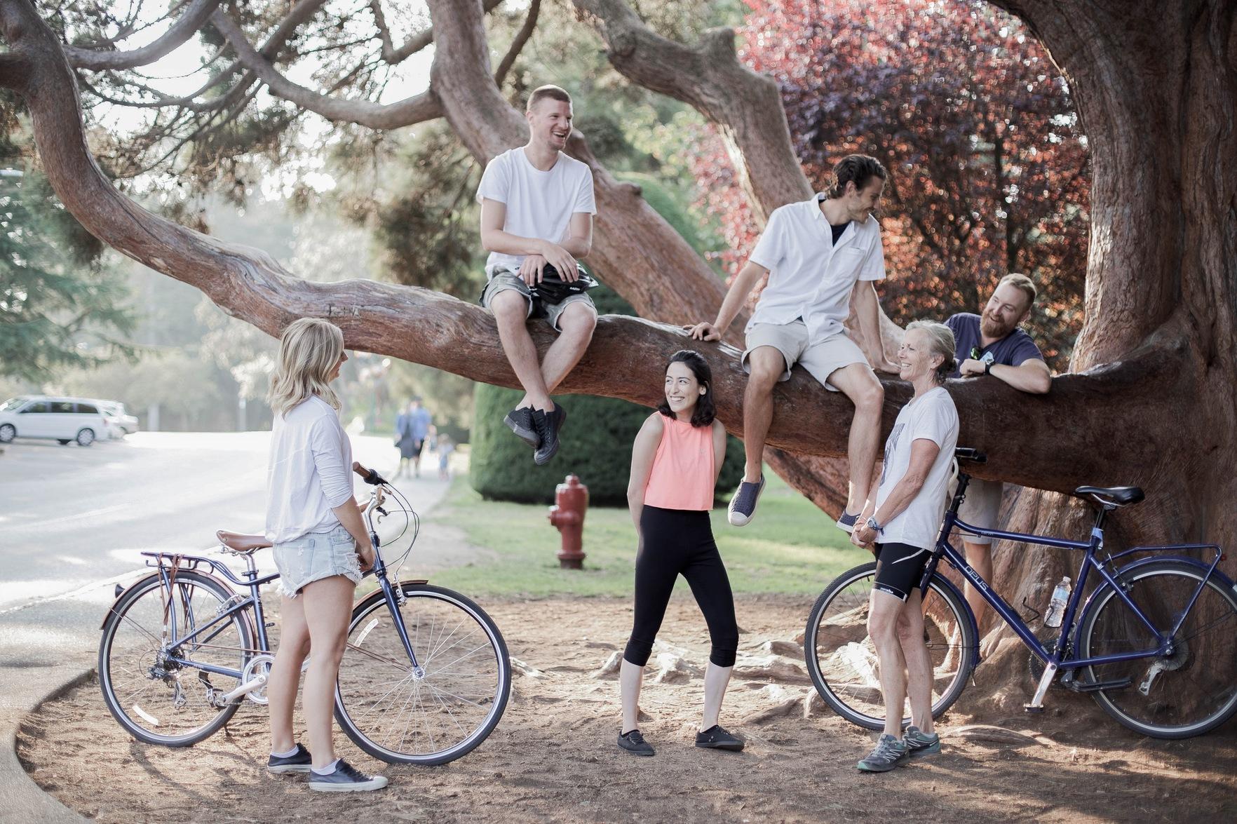 Bike Tour Victoria Lyndsey Eden