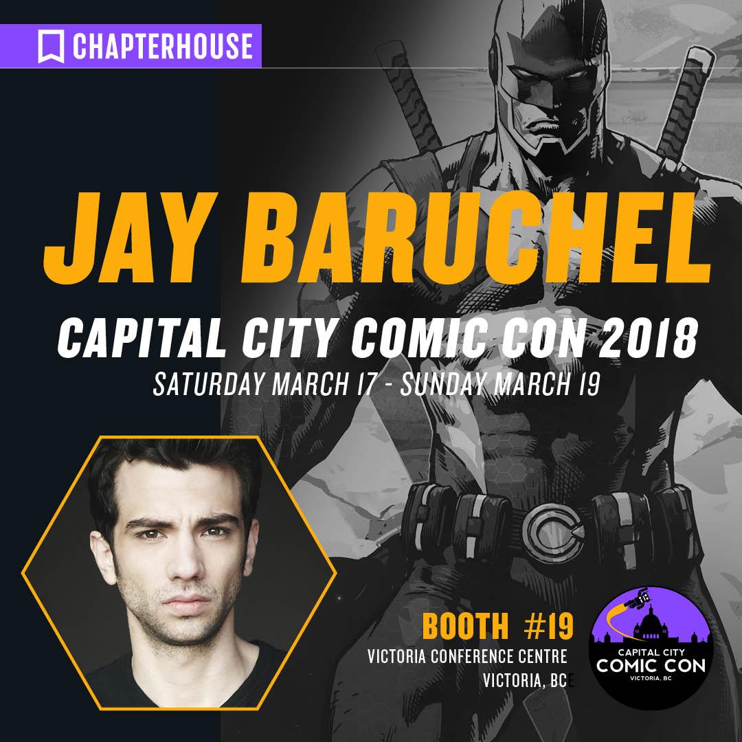 jay baruchel victoria bc capital city comic con