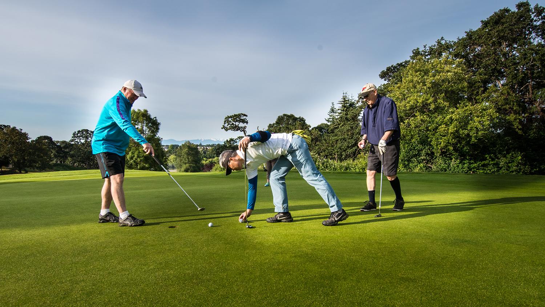 Cedar Hill golfers