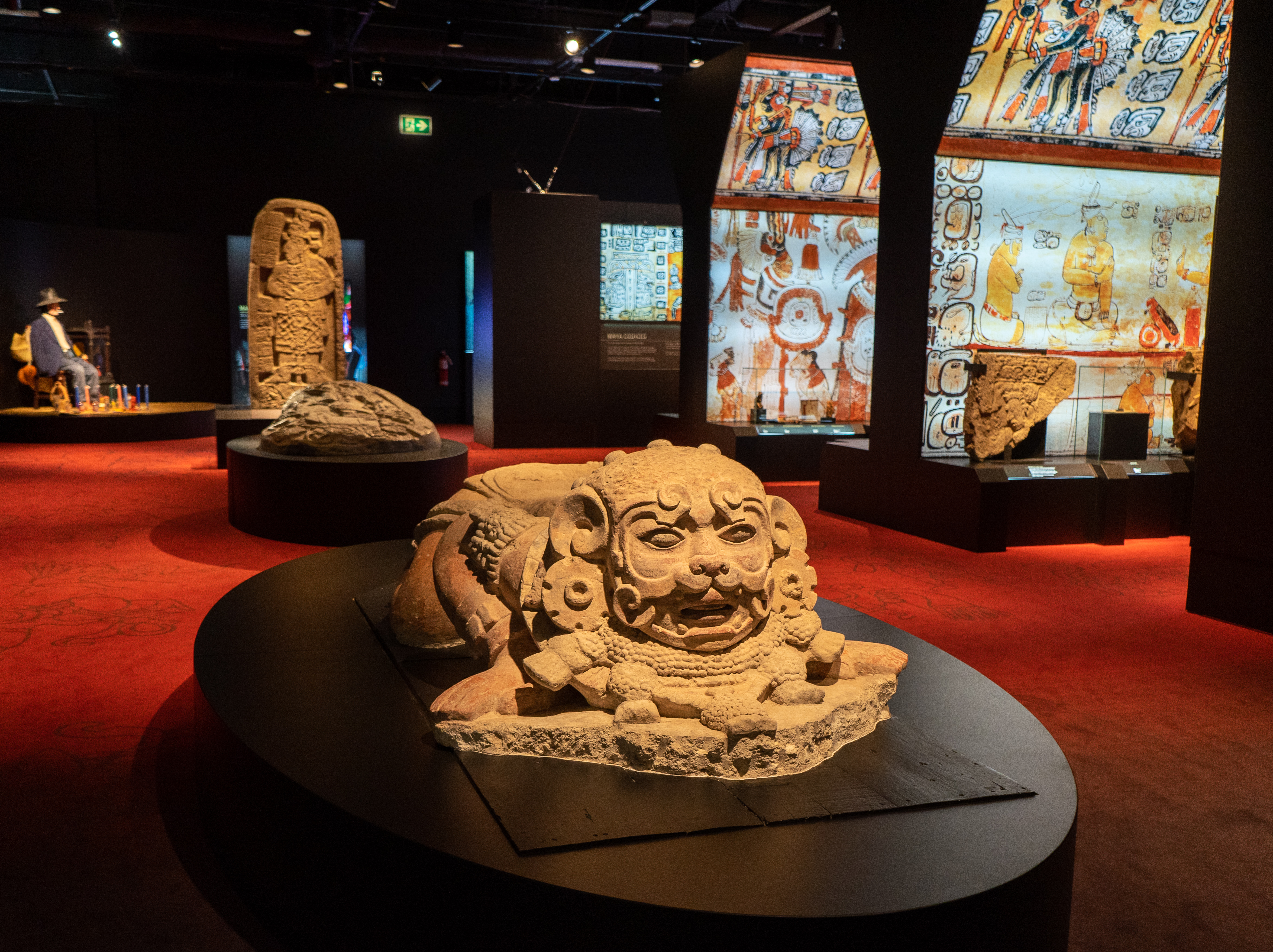 Maya Exhibit Royal BC Museum