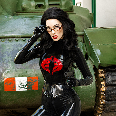 Evilyn13 cosplayer