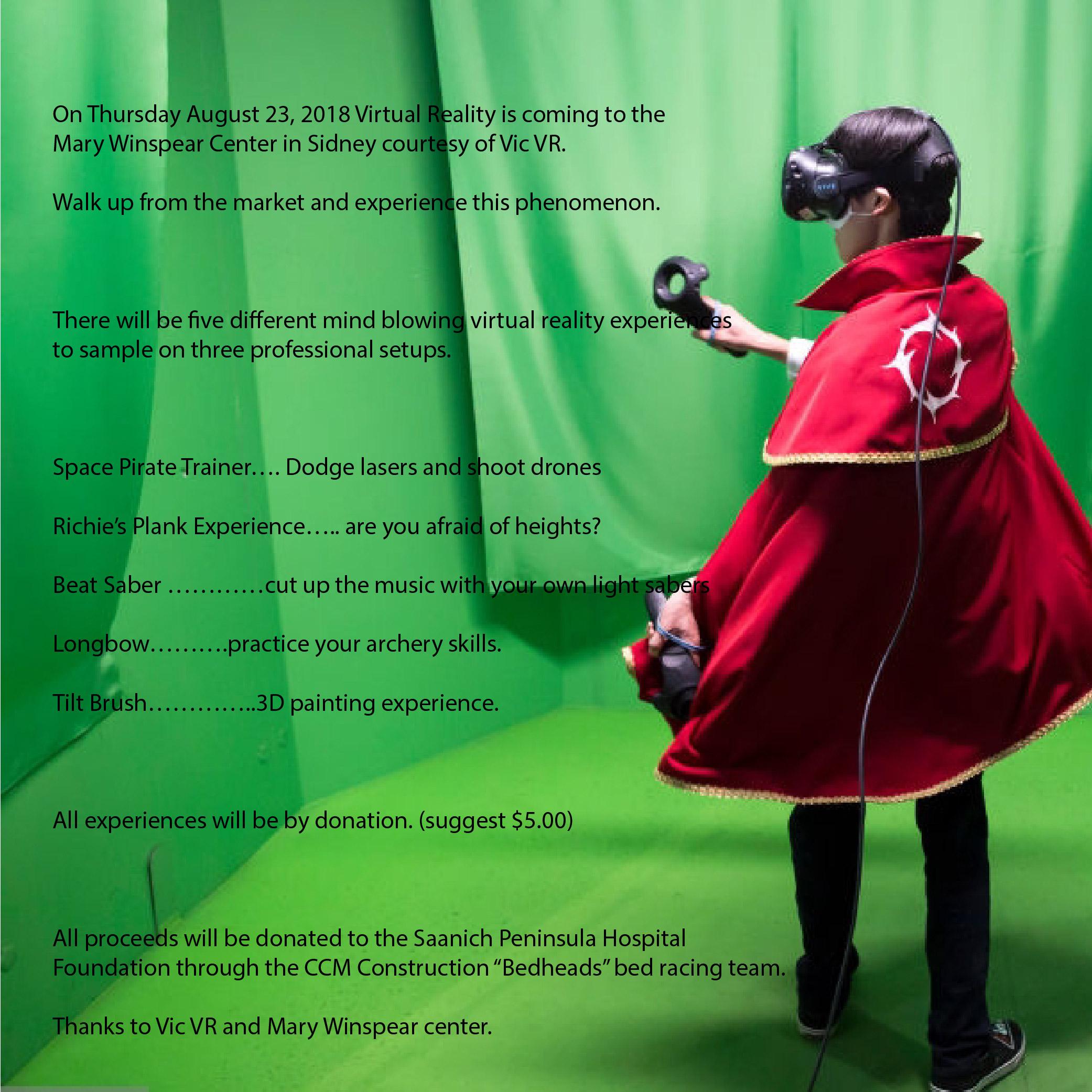 55caad05478 Virtual Reality at the Sidney Market