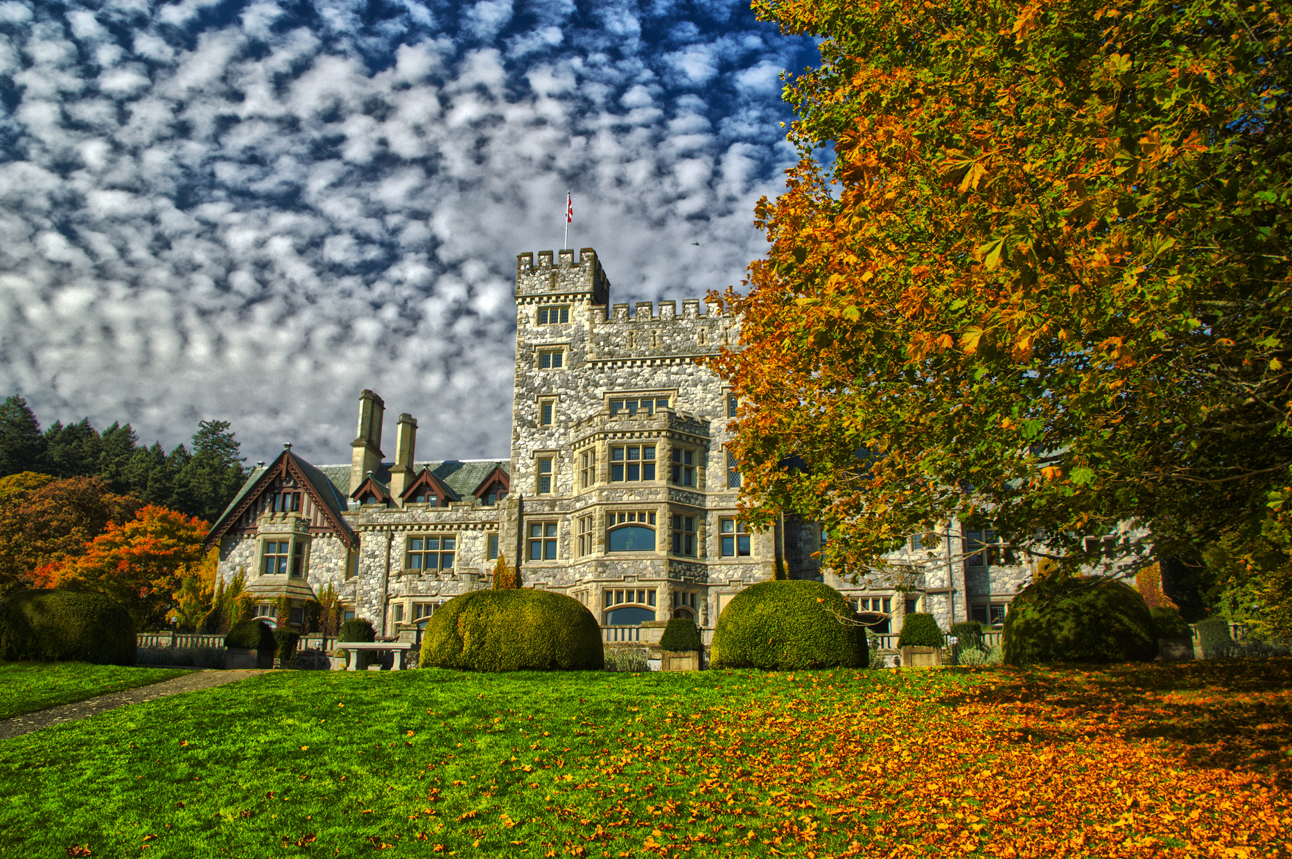 Hatley Castle and Gardens Colwood BC