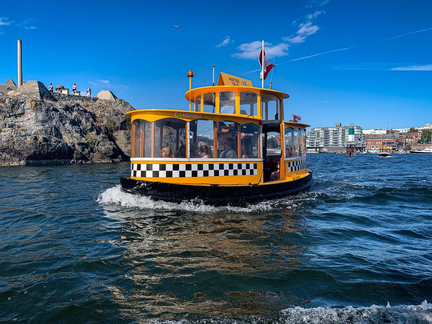Victoria Harbour Ferry boat