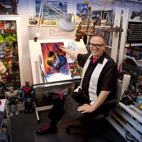 Ken Steacy - Comic Con Artist