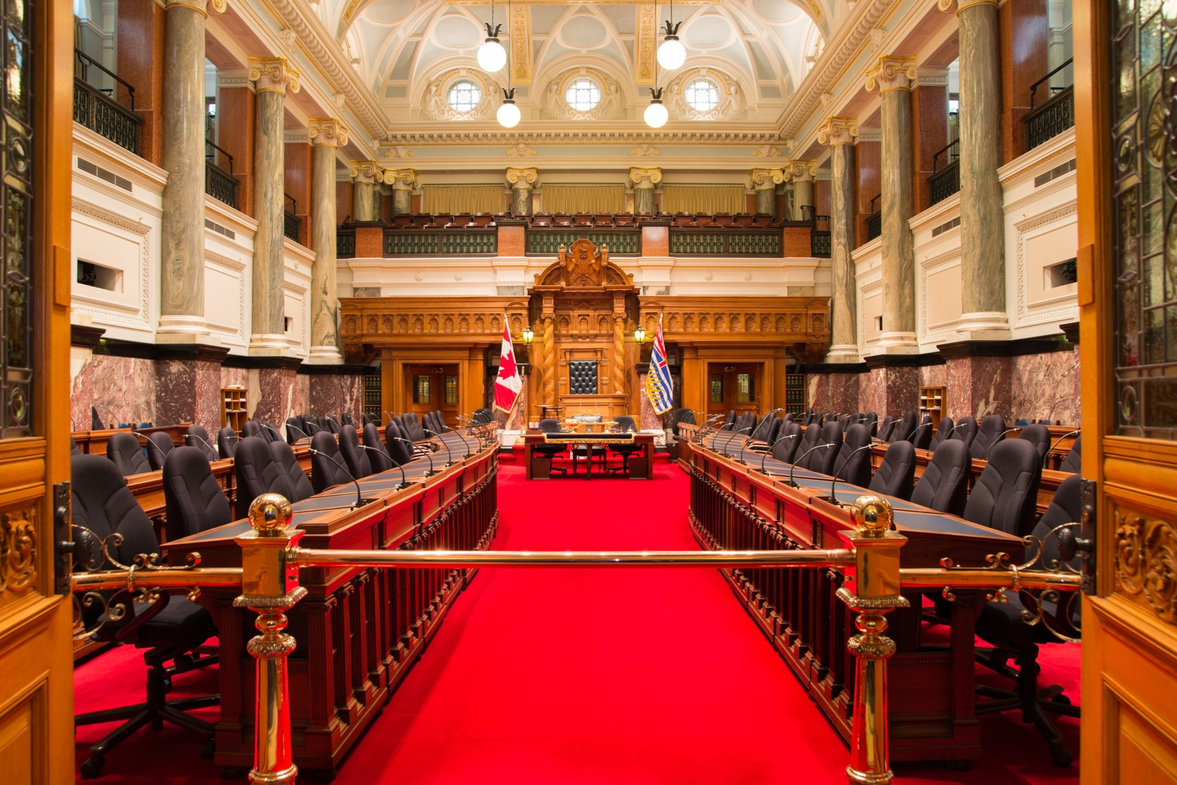 Image result for bc parliament building inside