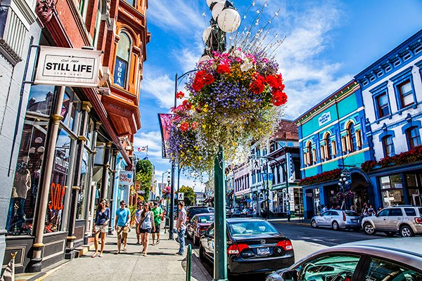 Your Downtown Victoria B C Shopping Guide Tourism Victoria