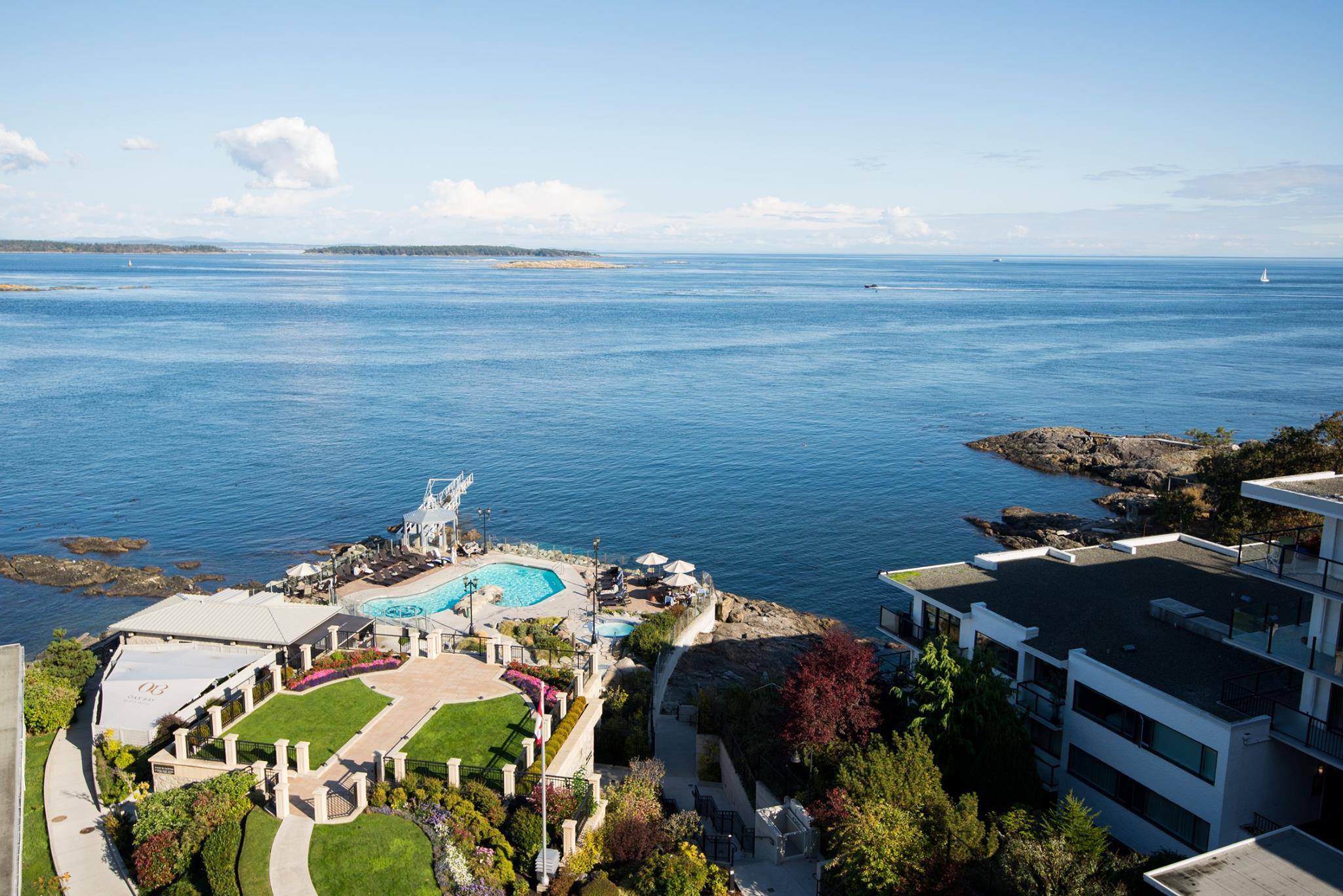 Oak Bay Beach Hotel Boathouse Spa