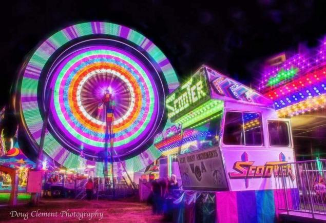 Luxton Fair Midway: Click to enlarge