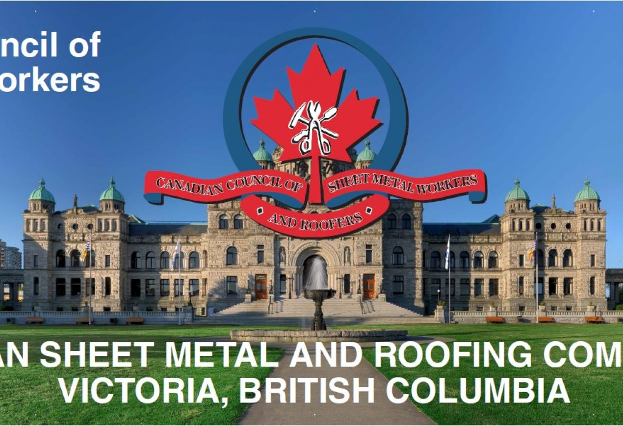43rd Annual Canadian Sheet Metal Workers Amp Roofers