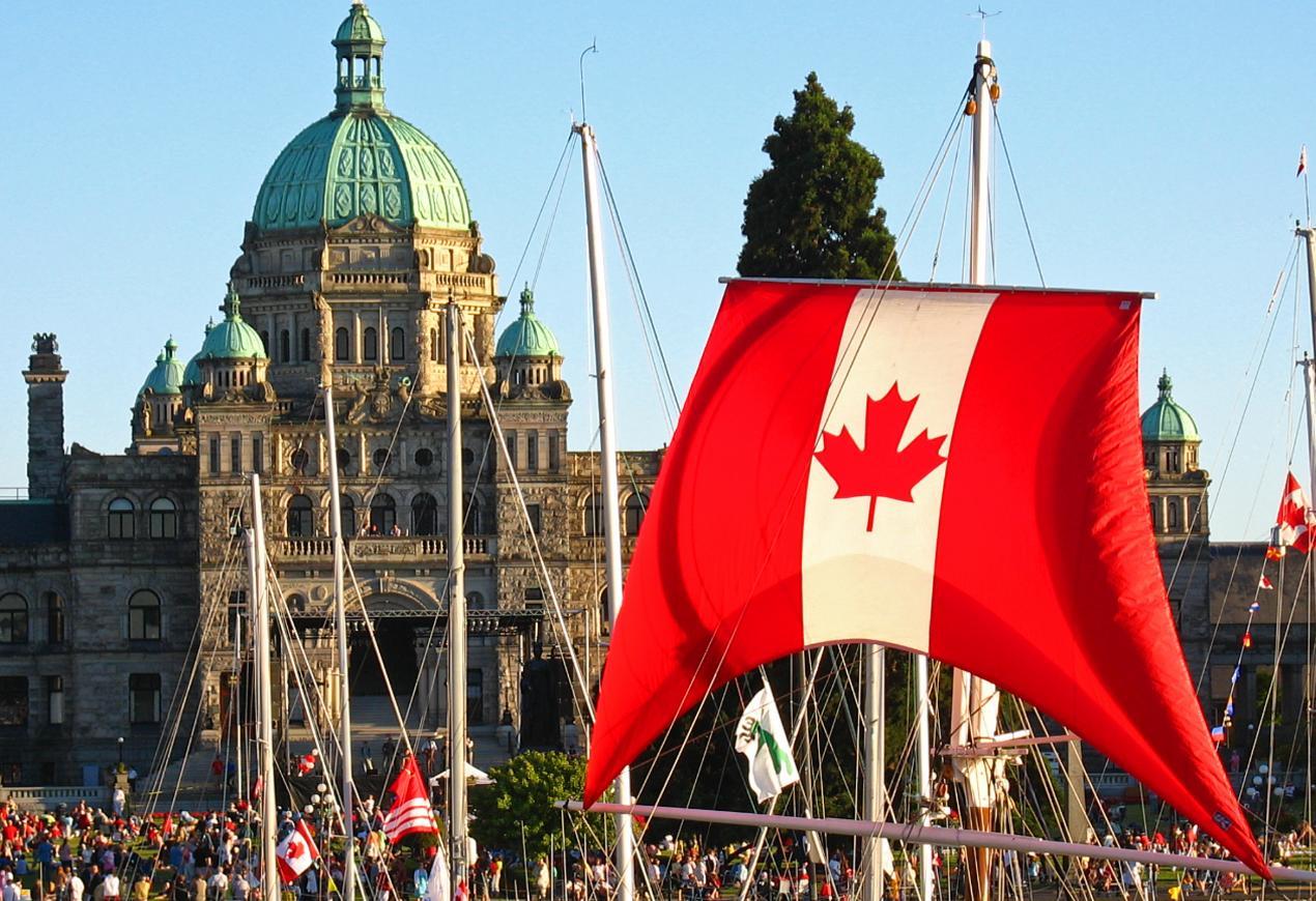 Canada Day July 1 Victoria BC