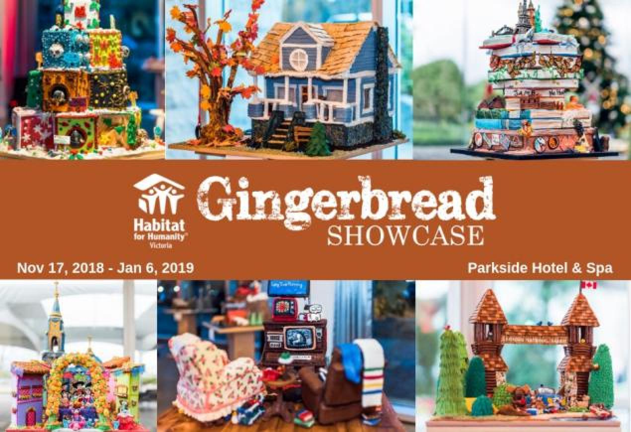 Gingerbread Showcase 2018, Victoria BC
