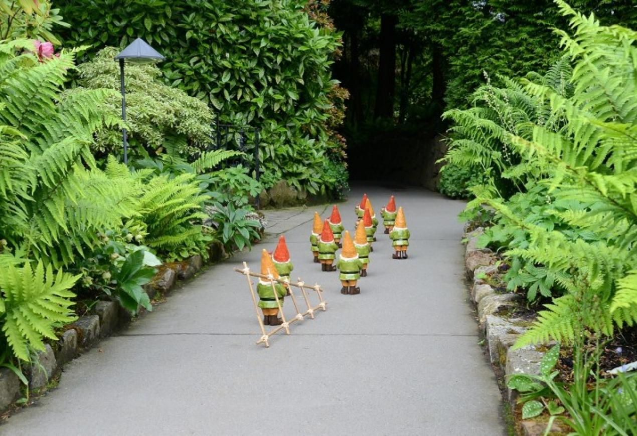 Gnome Hunt At The Butchart Gardens Tourism Victoria