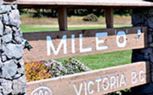Mile O landmark