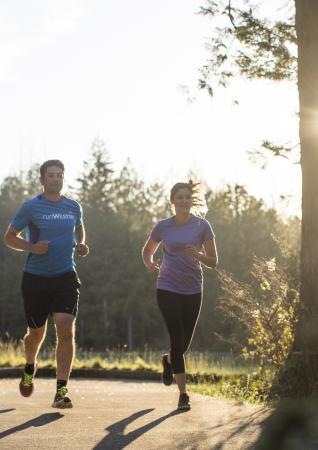 Running Victoria BC