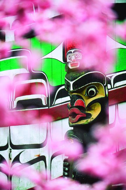 2018 Indigenous Cultural Festival Totem Pole