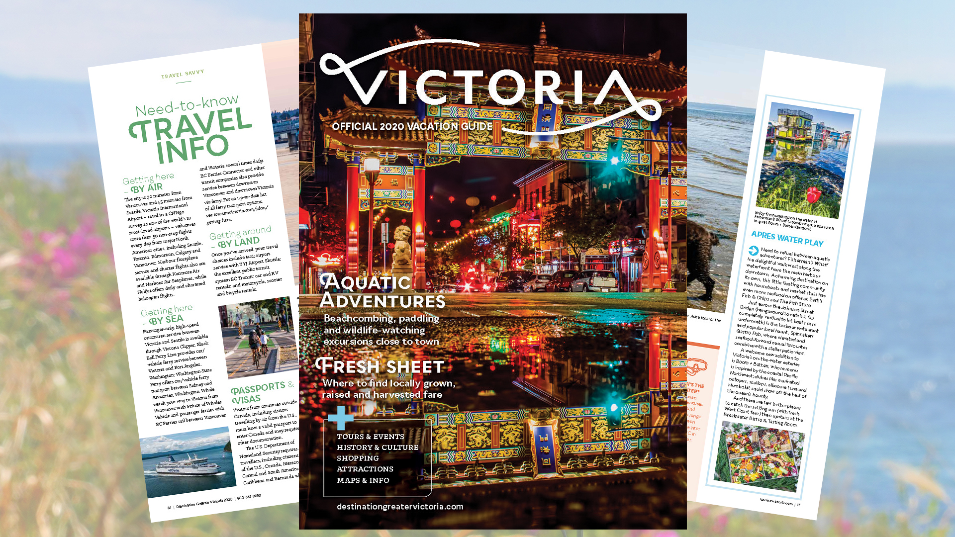 2020 Victoria Vacation Guide image