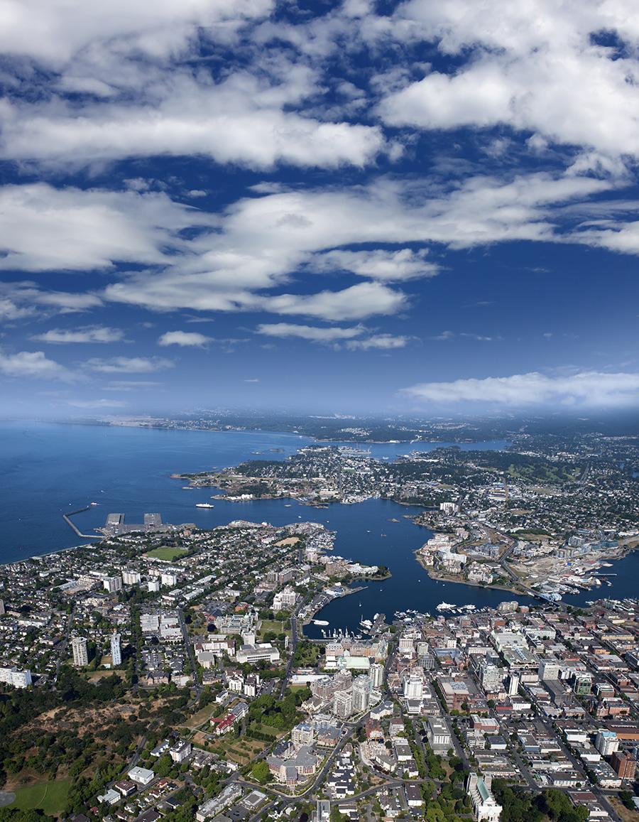 aerial photo of Victoria