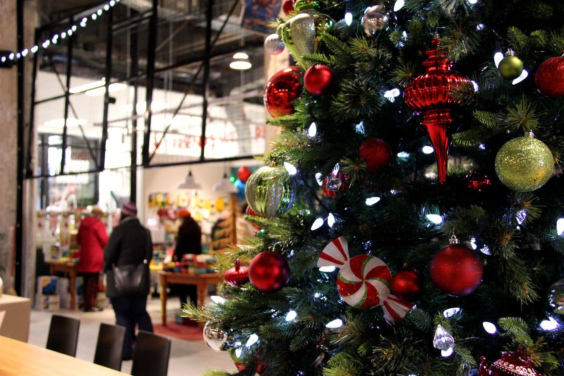 Victoria Public Market Christmas