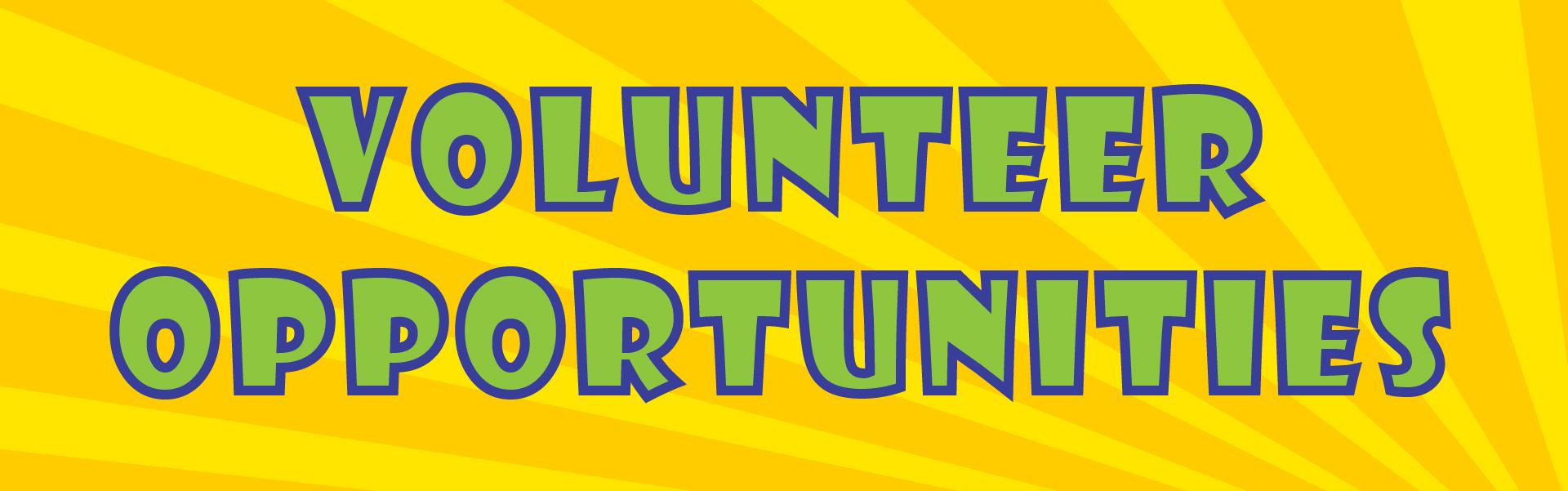 Comic Con Volunteer Opportunities