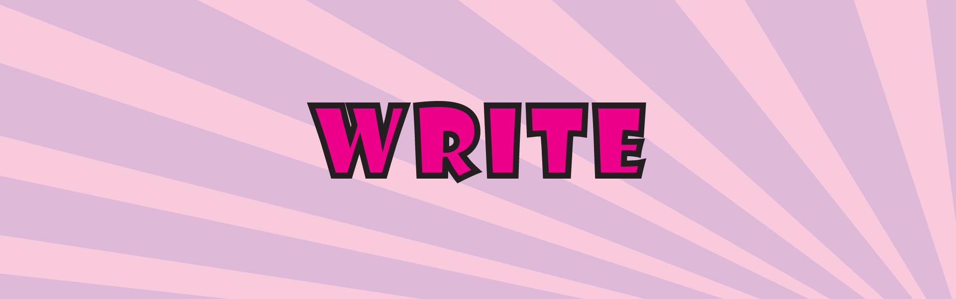 Write About Comic Con